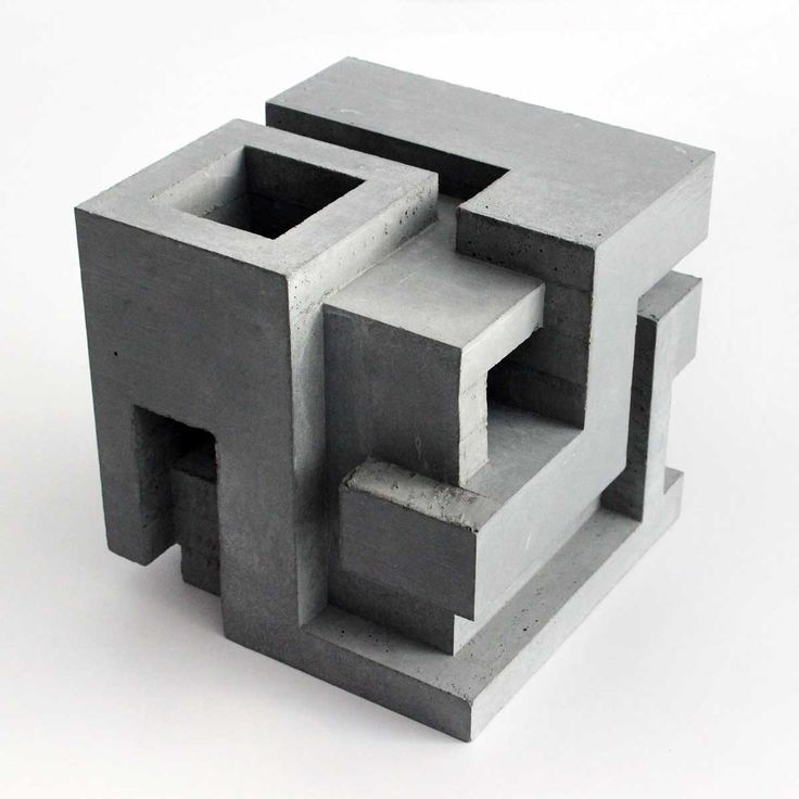 Created by Montreal-based artist David Umemoto, this limited-edition concrete sculpture is a brilliant example of the artist's distinct Brutalist style. This artwork exemplifies Umemoto's signature approach, informed by the Brutalist movement and architects such as Le Corbusier. Each piece is cast from solid concrete in a multi-step process that shows the distinct marks of the …
