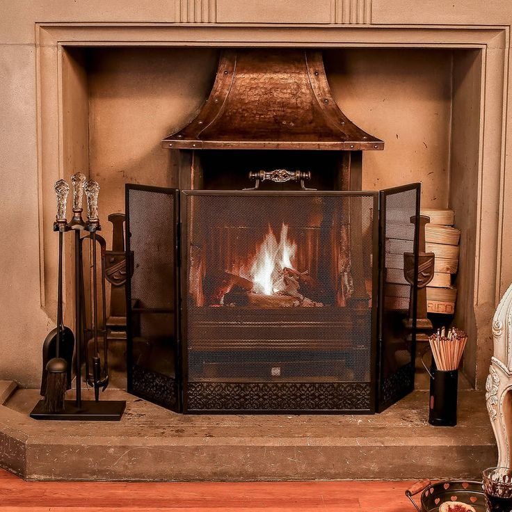 venetian three piece fireside collection