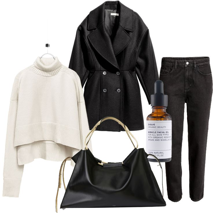 Johanna P. Blog - Fashion Mood Board - minimal style - Denim, Céline bag