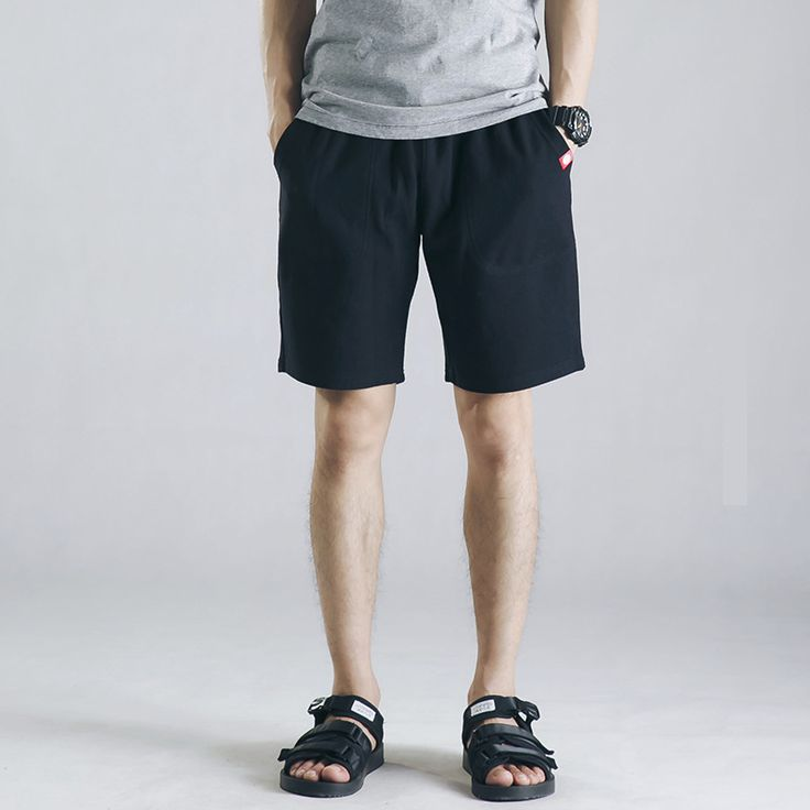 Summer 2017 new high-end men's beach shorts simple solid color casual male Bodybuilding Clothing Men Golds Athlete Fitness