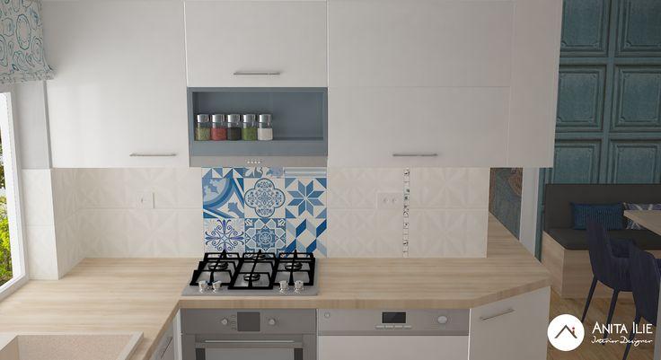 Elegance Kitchen Interior design by Anita Ilie