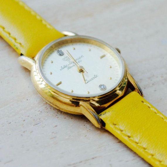 JULES JURGENSEN ladies quartz watch