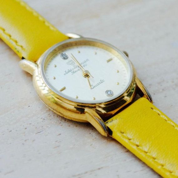 JULES JURGENSEN ladies quartz watch