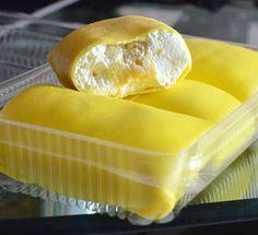 Izah Muffin Lover: Resepi Durian Crepe & Filling Cream Kastard
