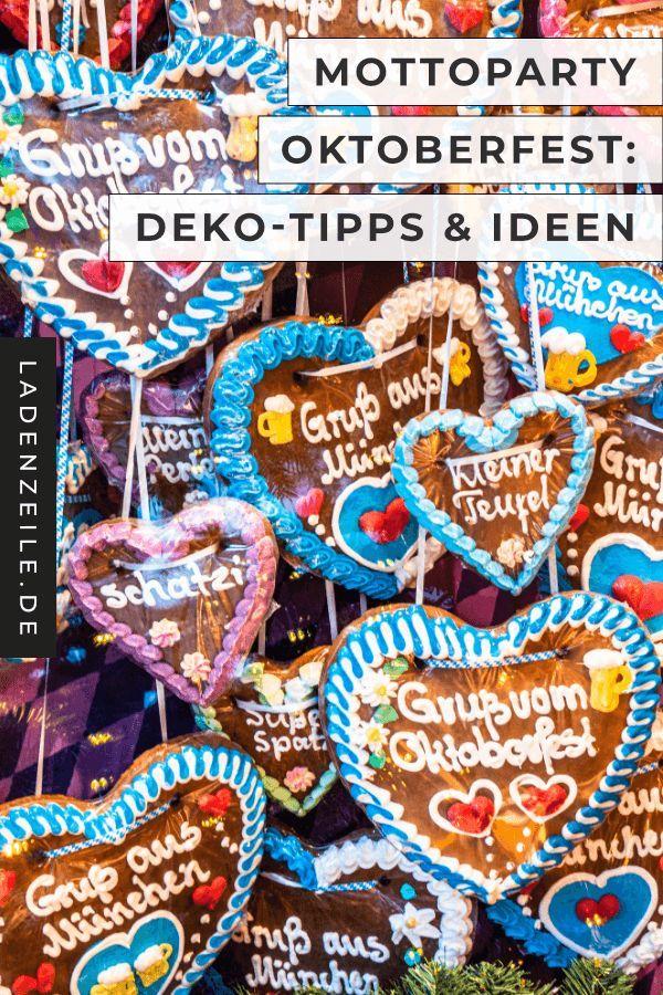 Oktoberfest-Party: Deko-Ideen – ℒ Oktoberfest – #deko #Ideen # ℒ #Oktober … – Oktoberfest: Es kommt!