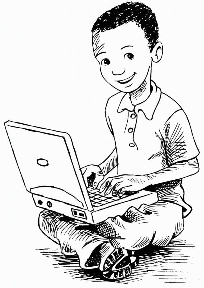 Computer Coloring Pages Printable Coloring Pages Cute Coloring