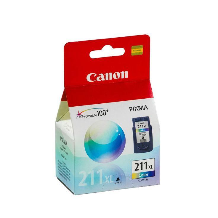TINTA CANON CL-211XL COLOR (13ML) | Platino