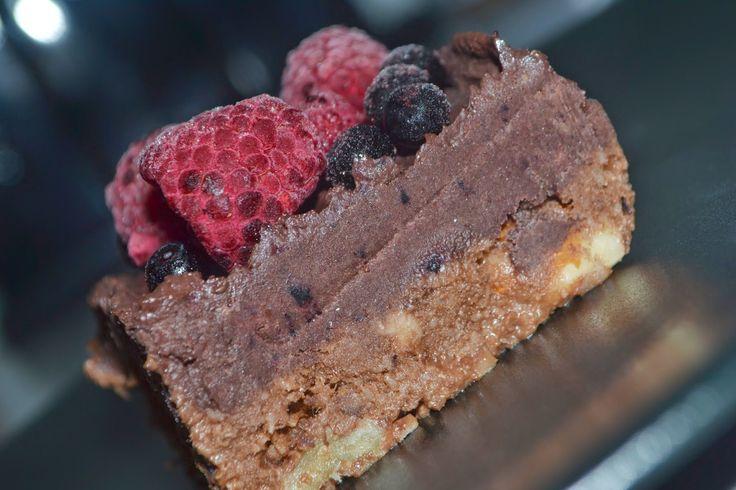Ryskadockor: Raw brownie :)