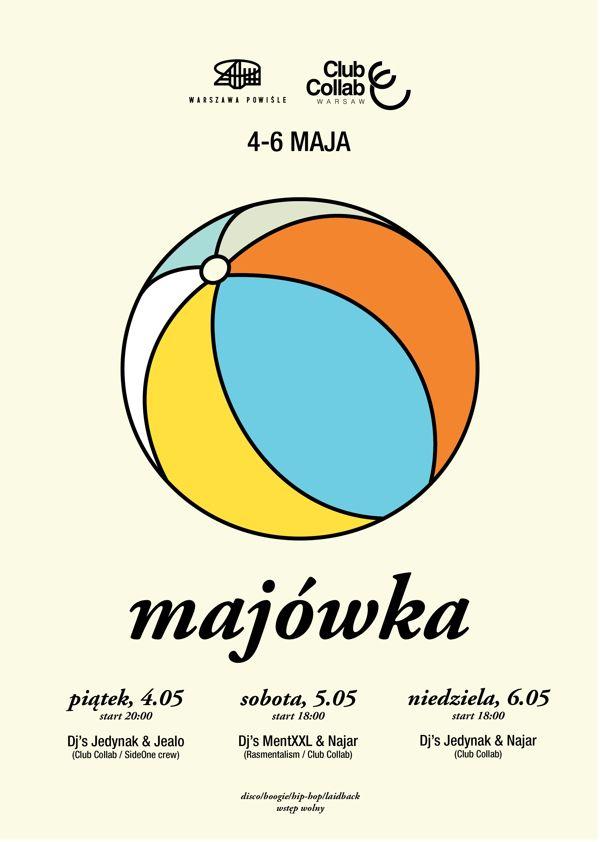 Spring brake party poster by Piotr Najar, via Behance