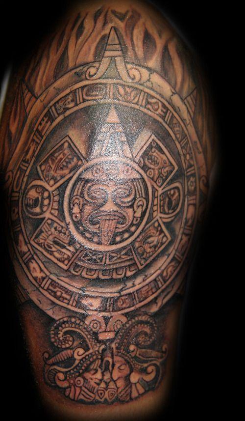 Aztec Calendar: Firme Tattoos, Calendar Tattoos, Aztec Calendar, Dream Tattoos, Mexican Tattoos, Mex Tattoos, Aztec Tattoos