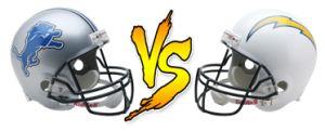 Detroit Lions vs San Diego Chargers NFL Live Stream