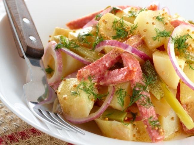 Немецкий картофельный салат - Портал Домашний
