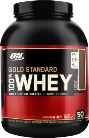 Gold Standard 100% Whey Protein by Optimum Nutrition at Bodybuilding.com - Lowest Prices on Gold Standard 100% Whey Protein!