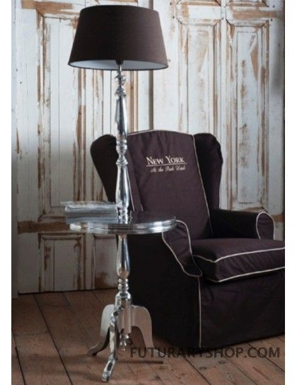 piantana lampada da terra, Winston winetable with lamp