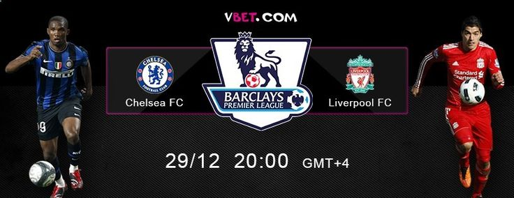 And so Matchweek 18 of the English Premier League Chelsea FC vs Liverpool FC 29/12 at 20.00 GMT 4 Football Preview and Online Betting on Premier League from Vbet Last time Chelsea beat Liverpool in the championship match of England in May 2010, and since then has had four defeats in a row, and last season twice played with a draw result. After 18 days of matches teams are on adjacent lines of the ranking table. www.vbet.com/inplay/