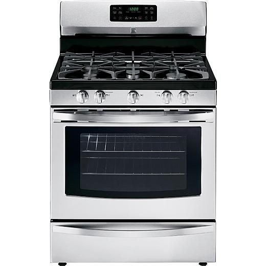 Kenmore 5.0 cu. ft. Freestanding Gas Range w/ Convection - Stainless Steel
