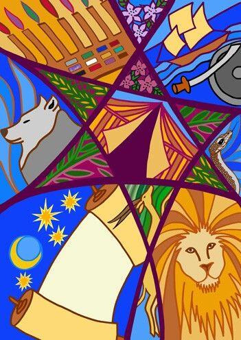 Twelve Tribes by Alison Shearman