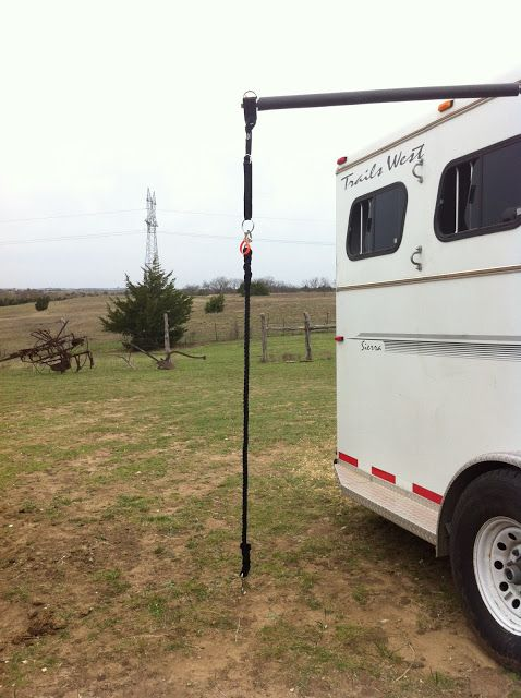 Trot on Hank: Hi Tie Ropes for over head tie systems.  SAFEST option at a great price.  NO BUNGEE!