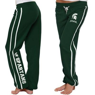Michigan State Spartans Ladies School Daze Pants - Green