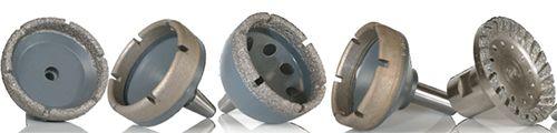 Generadores Diamantados  - Generadores Diamantados de alta calidad para máquinas marca LOH, COBURN y SHURON - Use la liga metálica para el trabajo con lentes de Vidrio - Use la liga de diamantes impregnados al vacio  para el trabajo de lentes en CR-39, Polycarbonato, Plástico, Hi-Index y Trivex - Acoples cónicos, roscados y de ajuste rápido - Bajo Pedido - Envíos a toda Colombia