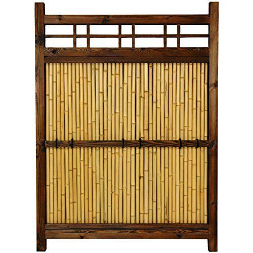 Oriental Furniture 4 Ft. X 3 Ft. Japanese Bamboo Kumo Fence · Outdoor  Garden DecorOutdoor ...