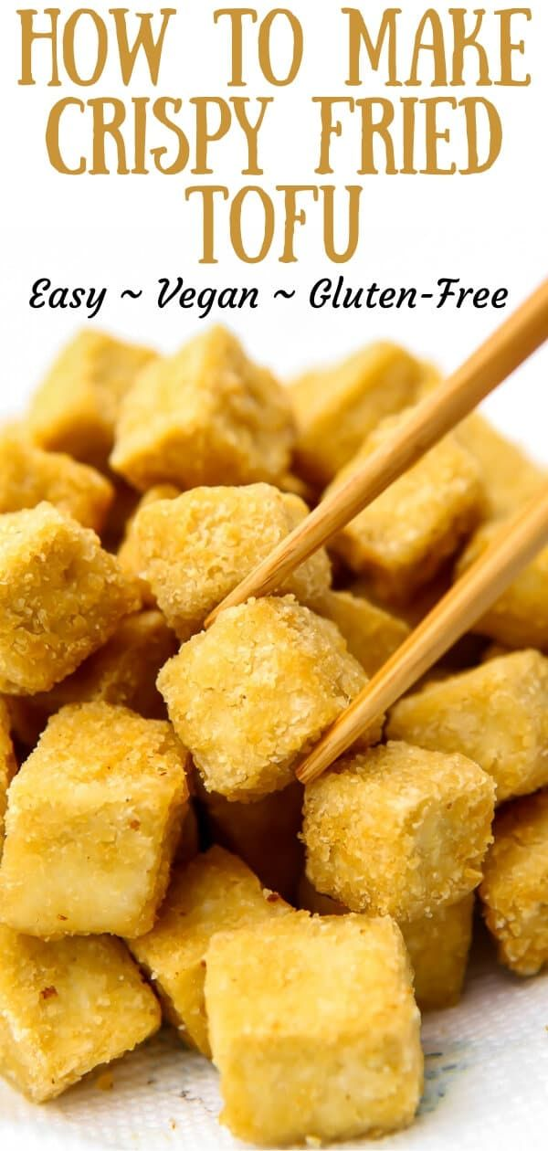 Let Me Show You How To Make Perfect Crispy Tofu Just Like The Fried Tofu That You Love At Your Favorite Asian Restau In 2020 Tofu Recipes Vegan Vegan Snacks Fried Tofu