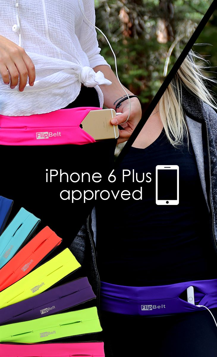 Buy FlipBelt today with free shipping! Best rated running belt ever! Fits Phones, Credit Card, Keys, Gels, Medical, Mace, Lip Balm, Powerbar, iPod, etc... Fits all phones including the iPhone 6 Plus! No Bounce!  Machine wash!  Move your phone to any location on your waist for different activities and exercises. Use 10% off code: PIN10 until 3/31/2015.  Click the image to shop now.