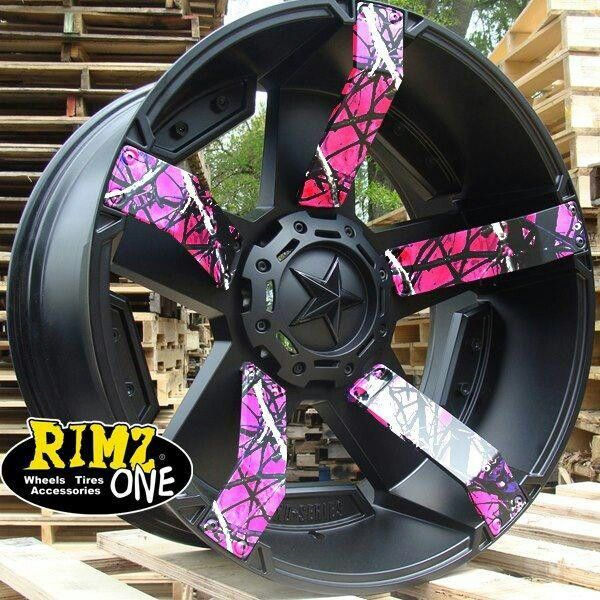 4 wheeler rims awsome | Trucks and Trailers | Pinterest ...
