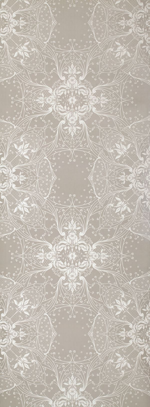 The beautiful Catherine Martin wallpaper we are using in the entry.