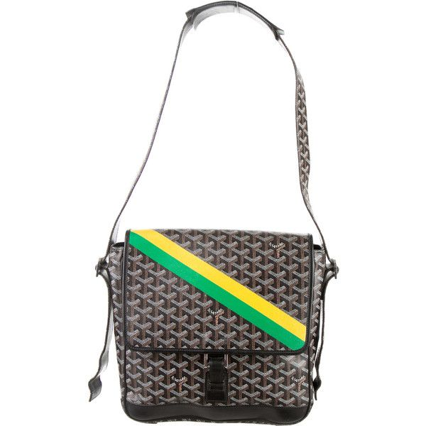 Pre-owned Goyard Urbain Messenger Bag featuring polyvore, women's fashion, bags…