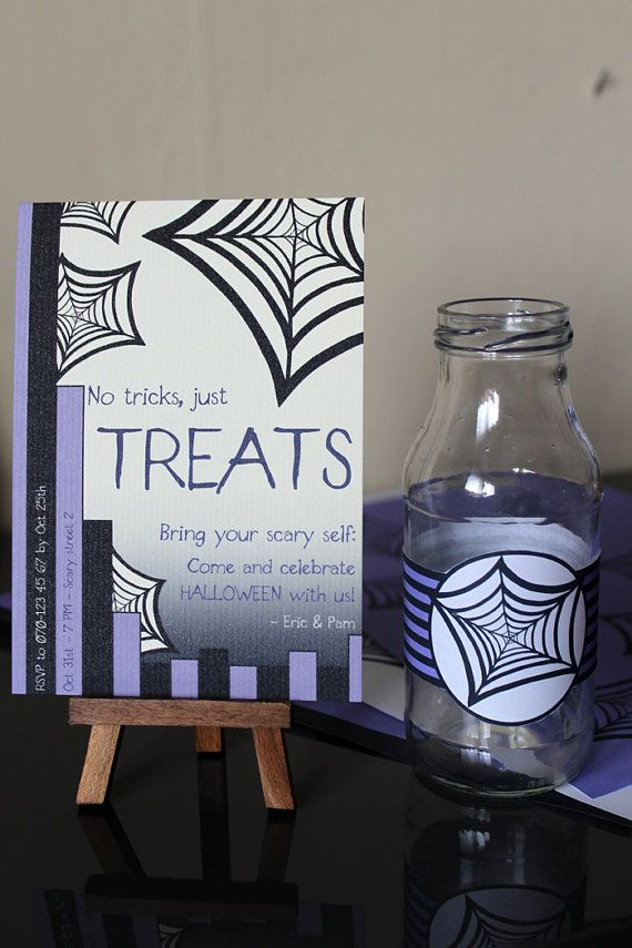 Halloween invitation Printable by ezontho on Etsy, €8.00