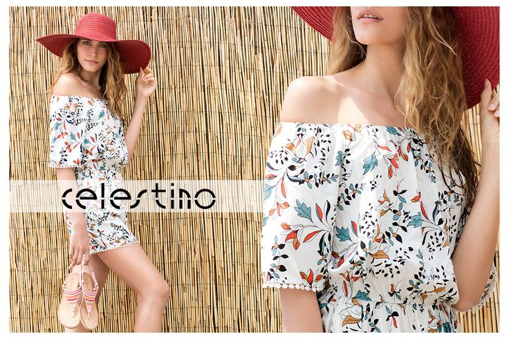 Beach style should be as hot as that one! #Celestino #fashion #style #fashioninspo #playsuit #hotgirl #beachwear #accessories
