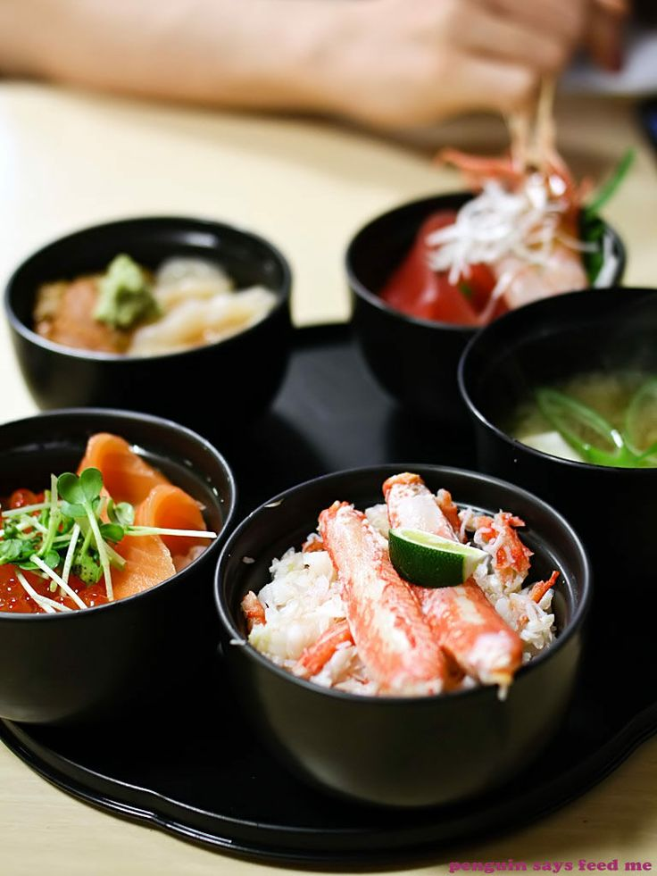 Mini-don set from the Nijo Markets in the land of seafood and dairy – Hokkaido, Japan