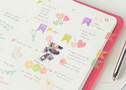 Diy Kpop Calendar : Korean planners planner ideas pinterest