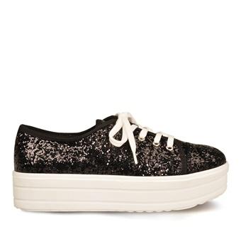 Marjin Coysa Spor Ayakkabı Siyah Sim