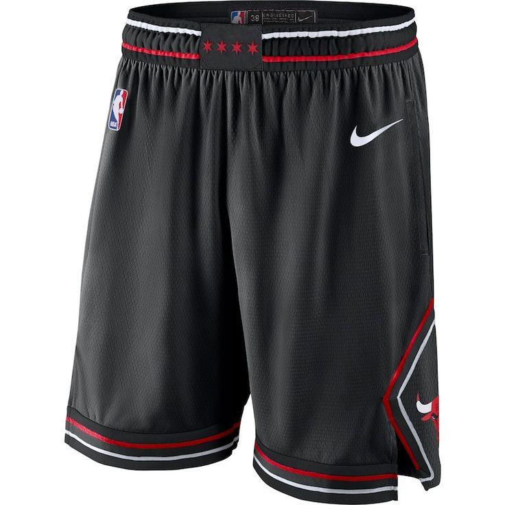 Chicago Bulls Nike 2018 19 Statement Edition Swingman Shorts Black In 2020 Basketball Clothes Basketball Shorts Nike Men