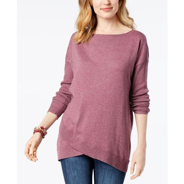 Style Co Asymmetrical Sweater Created For Macys 50 Liked