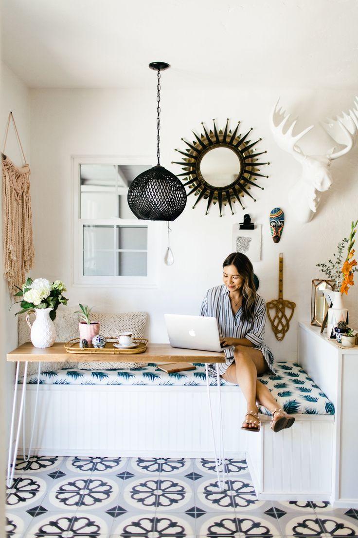 An Eclectic and Modern Bungalow in Phoenix, Arizona via Design*Sponge