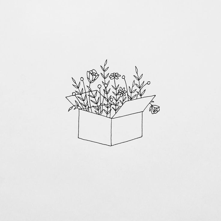 love the plants in the box!! might try for a bullet journal month theme!
