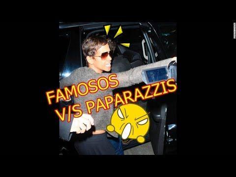 FAMOSOS HOLLYWOOD PELEAS Y REACCION V/S PAPARAZZIS¡¡