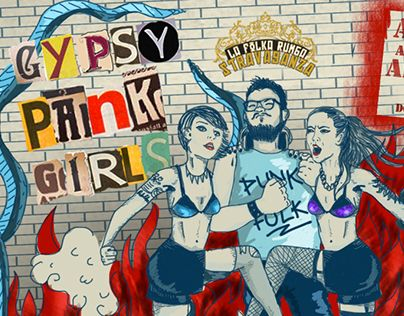 """Check out new work on my @Behance portfolio: """"Punk party posters"""" http://be.net/gallery/37845085/Punk-party-posters"""