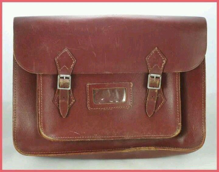 School satchel...loved it --- my boyfriend -- now my husband of 43 years carried my satchel to school
