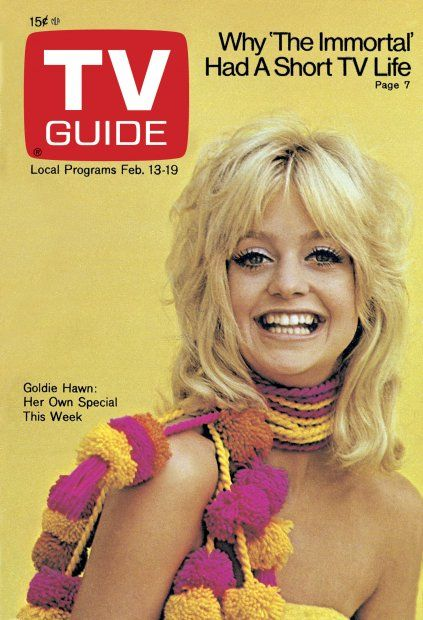 TV Guide : February 13, 1971 ~ Goldie Hawn