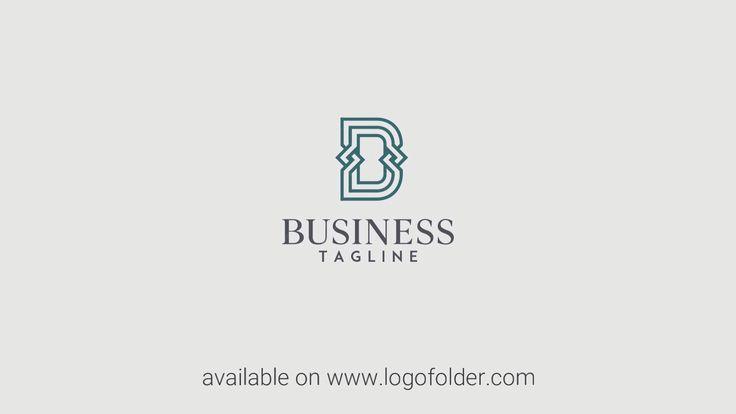 Elegant Letter D Logo Video Intro Logo Design Monogram Logo Letter Logo Design