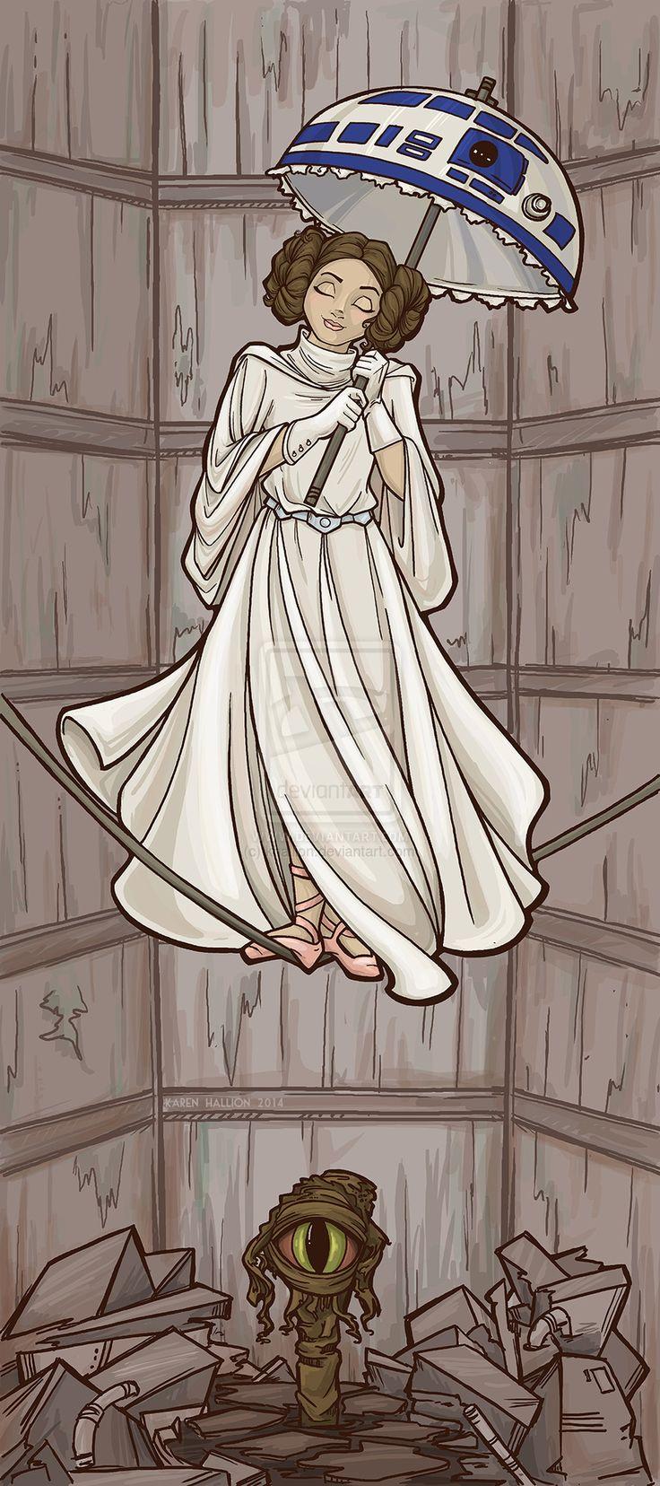 Haunted Mansion Leia