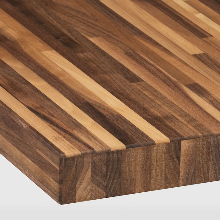 Pinnarp Countertop Walnut Veneer 74x1 1 2 Ikea In 2020