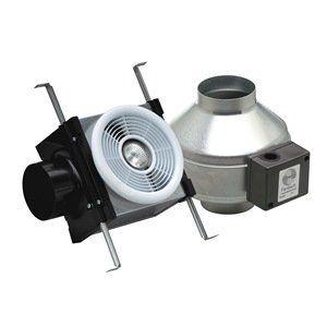 Fantech PB110H Exhaust Fan Halogen Light 110 CFM 50 Watt ...
