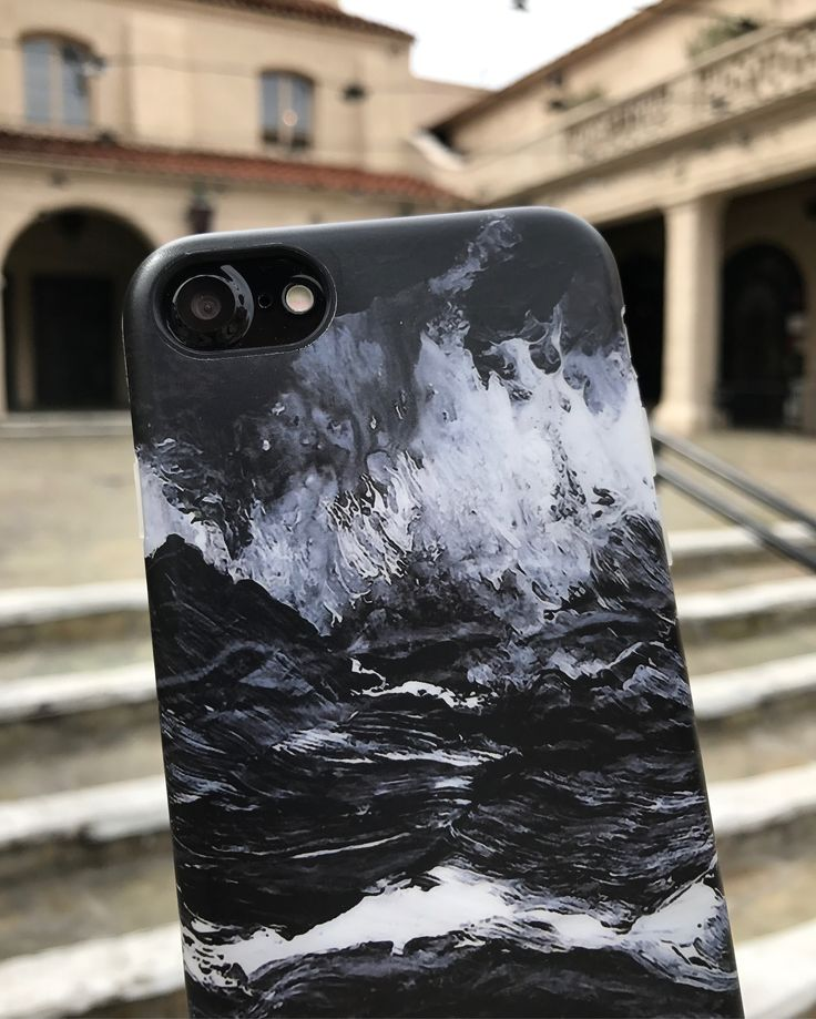 Friday Night Marble Case in Black for iPhone 7 & iPhone 7 Plus from Elemental Cases