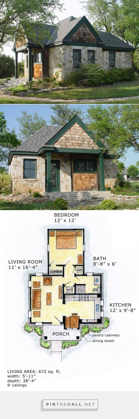 House Plan 56580 At Familyhomeplans Com A Grouped Images Picture Pin Them All House Plans Small House House Exterior