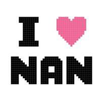 Missy Moo Crochet: I love Nan graph 50x50